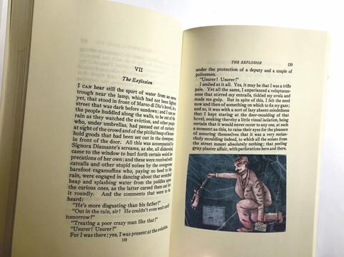 eviction scene inside book