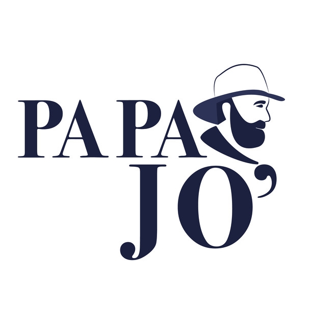 Papa jo logo earlier version