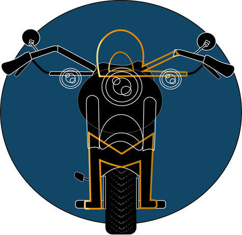 "Logo for ""RM"" garage earlier version 2"