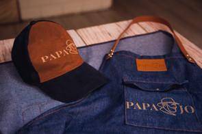 PAPA JO CAP AND APRON