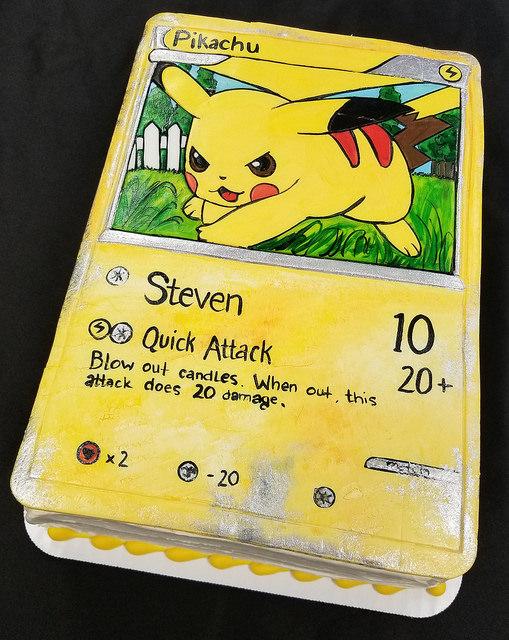 Pikachu Card