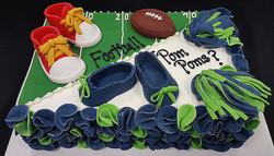 Football or Pom Poms?