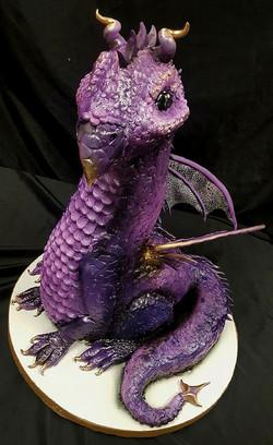 Rosebud the Dragon