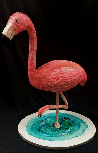 Francisco the Flamingo