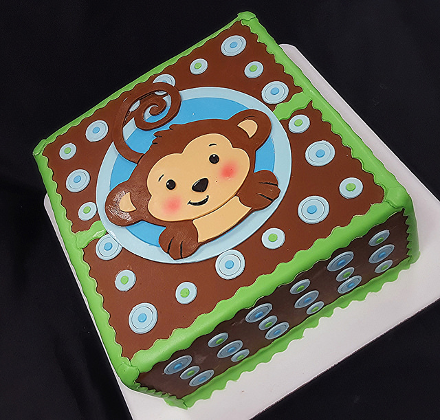 Monkeying Around Baby Shower