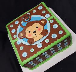 Monkeying Around Baby Shower