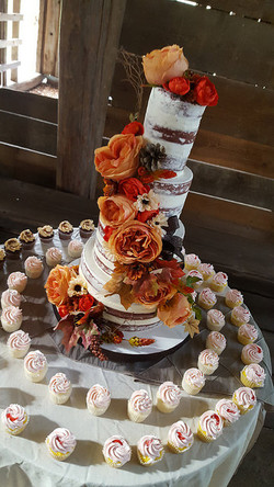 Fall Semi-Naked Wedding