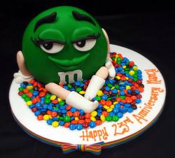 Green M 'n M