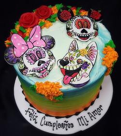 Disney Dia de los Muertos Birthday