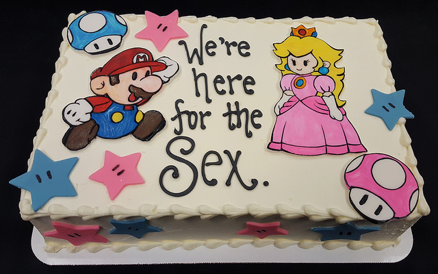 Gender Reveal Mario or Peach?