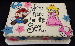 Gender Reveal Mario or Peach?