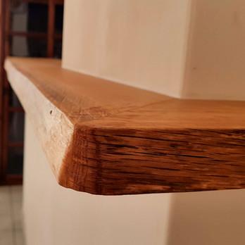 Detail wandplank