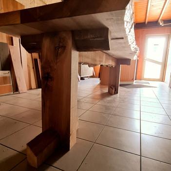 Tafelpoot hout