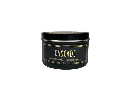 CASCADE CANDLE TIN