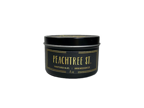 PEACHTREE ST. CANDLE TIN