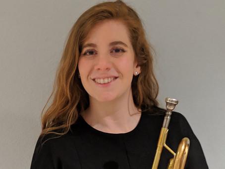 Ensemble Spotlight: Allison McSwain, Principal Trumpet