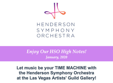 HSO High Notes - January 2020