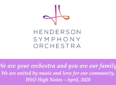 April HSO High Notes