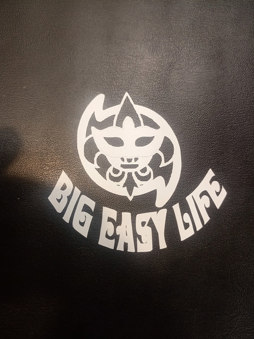Big Easy Life vinyl sticker 6 inches