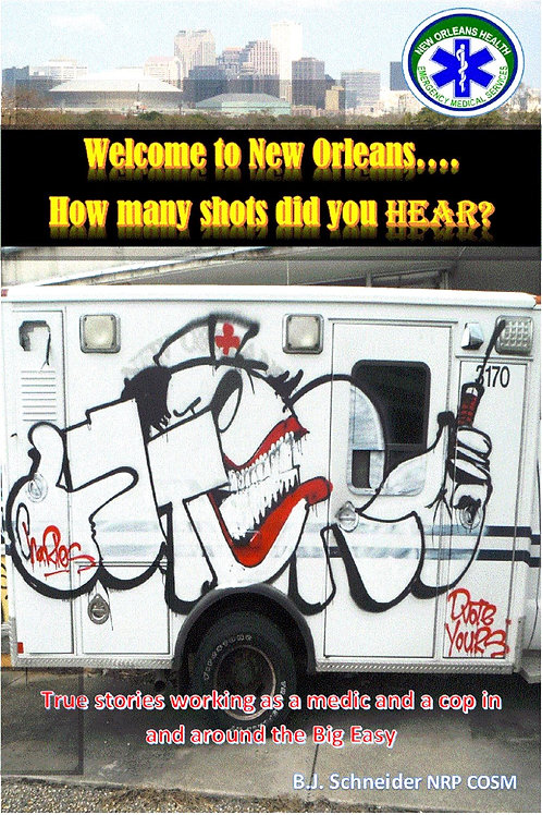 Welcome to New Orleans...How many shots did you he