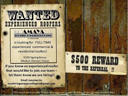 $500 REWARD!