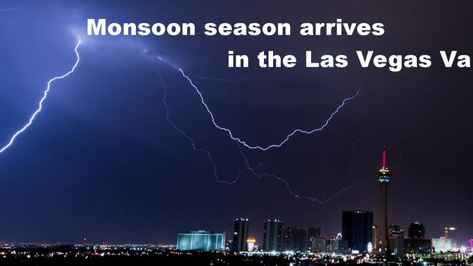 Monsoon Season Has Arrived