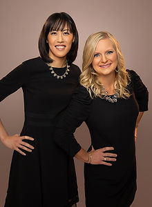 Dr. Tonya Cockrill and Dr. Emily Hung