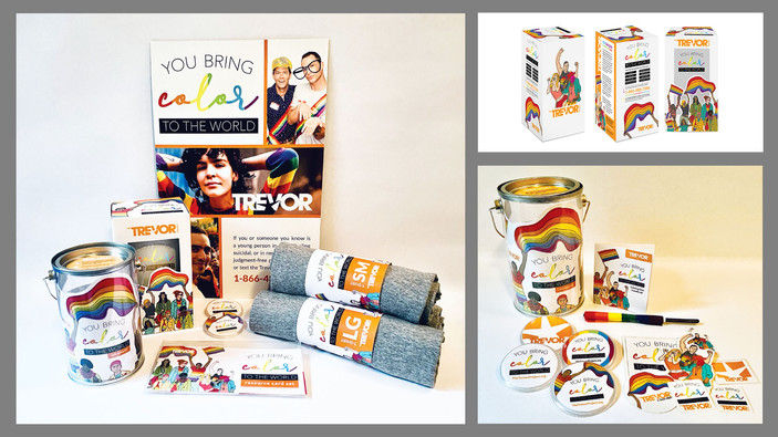 The Trevor Project Packaging (concept)