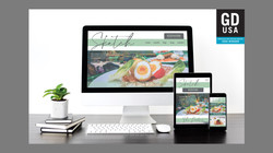 Sketch Restaurant Website Re-Design