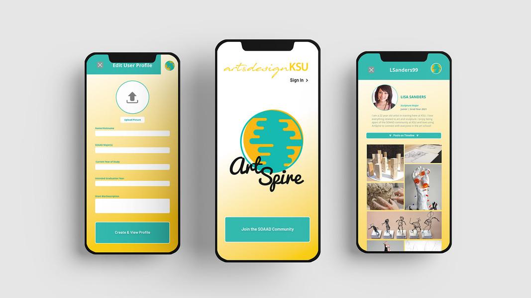 ArtSpire Prototype App