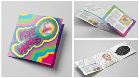 Kate Moross Trifold Brochure