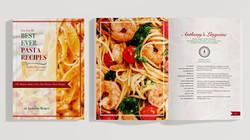 Recipe Book Jacket Design