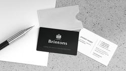 Brintons Business Card Re-design
