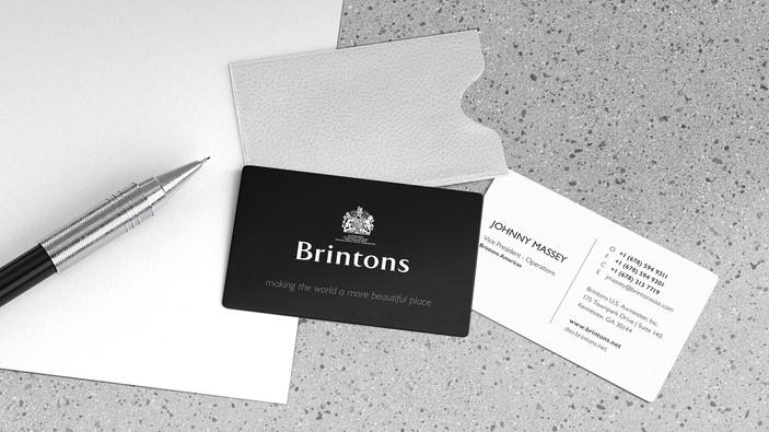 Brintons Business Card (re-design)