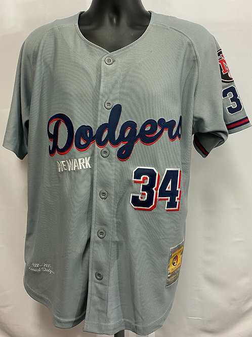 Newark Dodgers Jersey #34 Headgear Classics