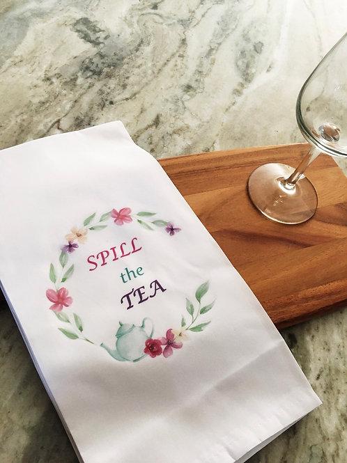 Tea Towel - Spill the Tea