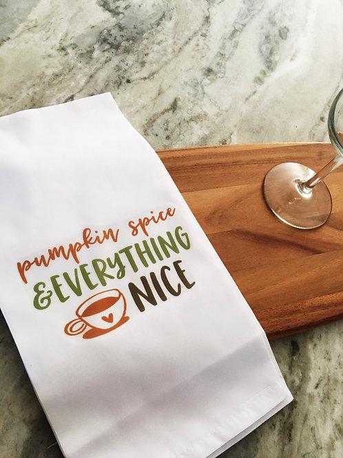 Tea Towel - Pumpkin Spice