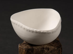 Bone China Slipcast Bowl