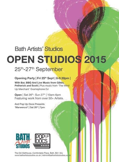 Open Studio Flyers
