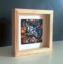 Sunlight N°2, mini création mosaïque