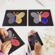 Papillons en cours