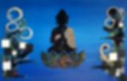 Tableau Buddha, Bouddha, mosaïque , art, design, decoration