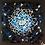 """Thumbnail: Tableau """"CHAKRA BLEU"""" (20 x 20 cm ) - 2020"""