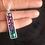 Thumbnail: Collier pendentif argent 925 - mosaïque de verre dégradé
