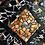 """Thumbnail: Tableau """"CHAKRA ORANGE"""" (20 x 20 cm ) - 2021"""