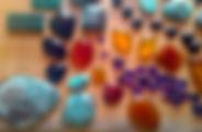Pierres semi-précieuses, Inde, turquoises, Onyx, malachites, améthystes, mosaïque
