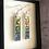 Thumbnail: Boucles d'oreilles rectangles argent 925 - mosaïque Bleu, Vert, jaune et Or