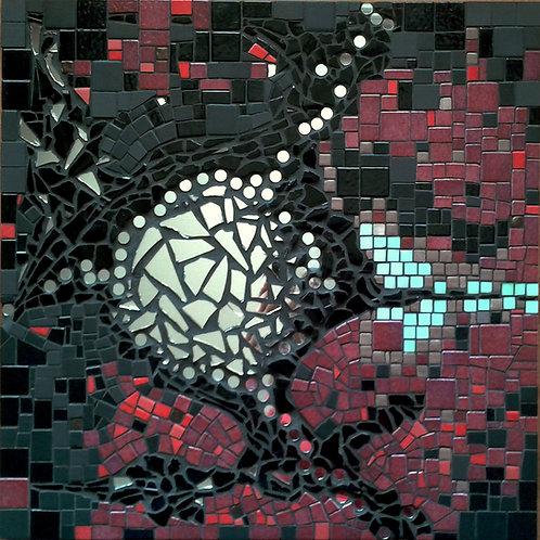 """""""MEMORY"""" (2014) - Tableau mosaïque 45 cm x 45 cm"""