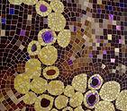Tableau Eternity détails mosaïque Aurélie Martignac Ô mosaïc design