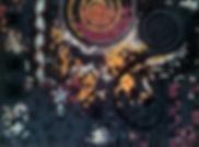ô mosaïc design, ORIGINES,tableau création mosaïque, mosaïc frame, emaux de Briare, Toulouse, France, spirales, ADN, pavage de Penrose